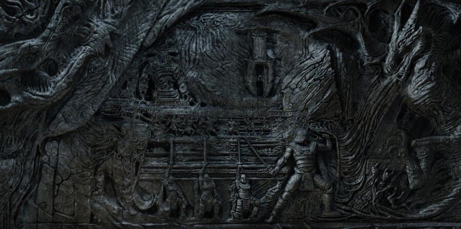 mur dragon skyrim